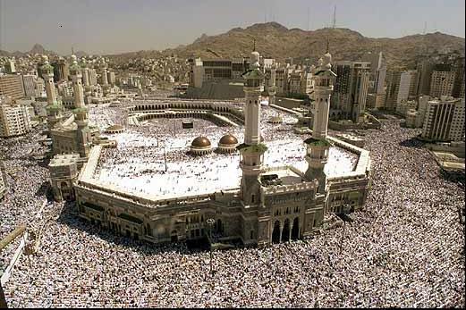 An image from Hajj