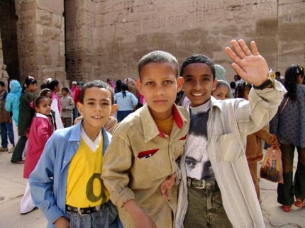 EgyptianBoysOnFieldTrip